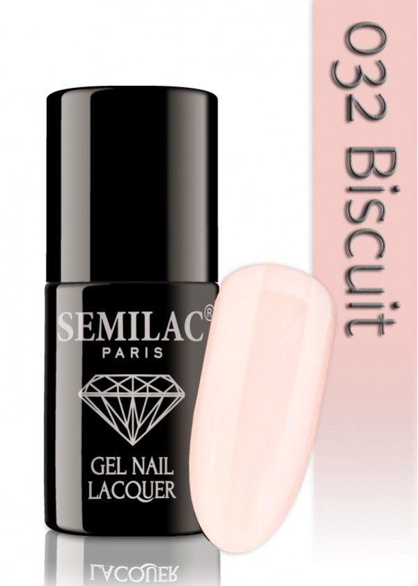 Semilac 032 Biscuit UV&LED Nagellack. Auch ohne Nagelstudio bis zu 3 WOCHEN perfekte Nägel!