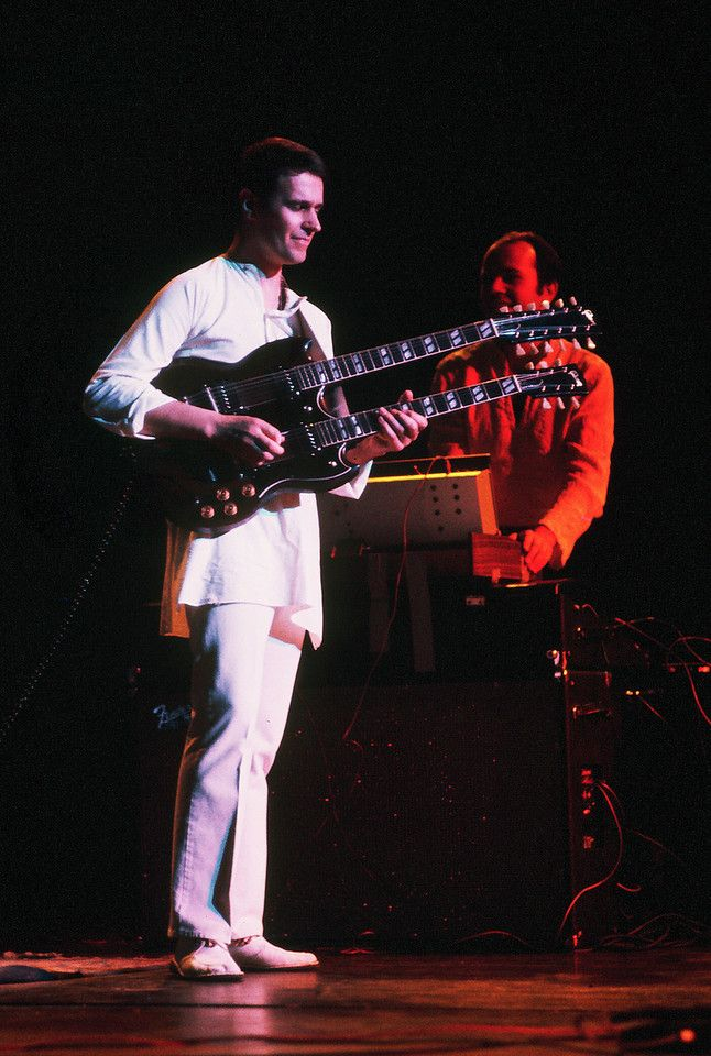 John McLaughlin and Jan Hammer, Mahavishnu Orchestra.