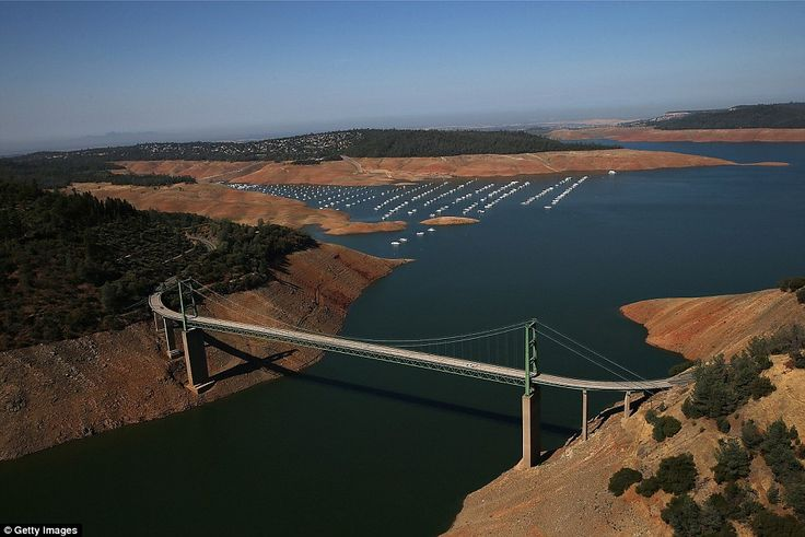 How serious is California drought? Check out these before and after pictures, taken only three years apart. - Imgur