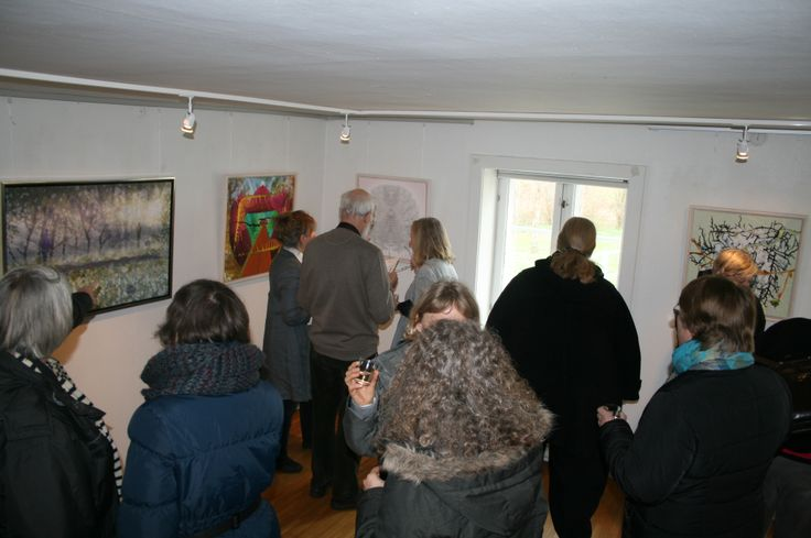 Opening in Hundested Art Association, Denmark 26 of April 2013
