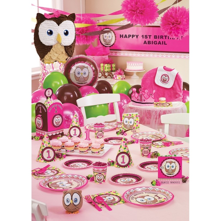 "This Site Is Awesome For Party Supplies. This ""Look Whoo's"