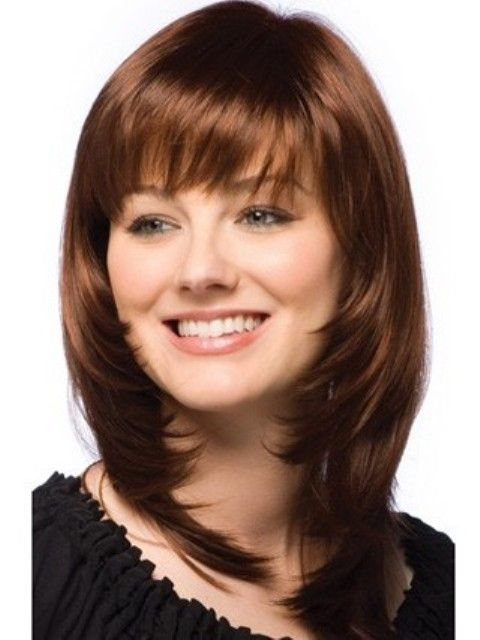 2014 Trendy Medium Length Hairstyles for Round Faces – PICTURES and TIPS
