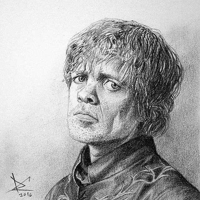 The best Lannister ever. #drawing #fanart #gameofthrones #tyrionlannister #peterdinklage