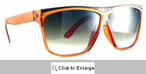 Alexis Gold Trim Sunglasses - 536 Brown