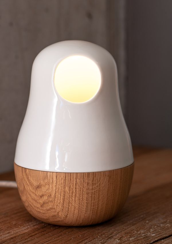 Babula Table-Lamp on Industrial Design Served
