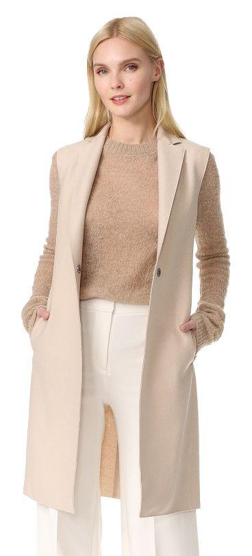 waistcoat by Harris Wharf London. A sophisticated Harris Wharf London vest with a soft, yet substantial feel. Raised, laser-cut seams. Hidden snap clos...