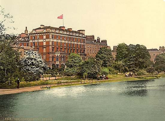 Shelbourne Hotel, Dublin, Ireland -opened in 1824, in Room 526 there lives a spirit of a little girl named Mary