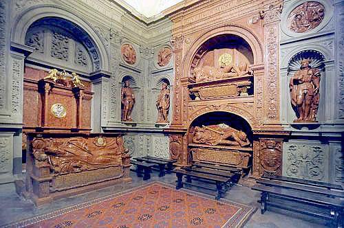 Kaplica Zygmuntowska wnętrze