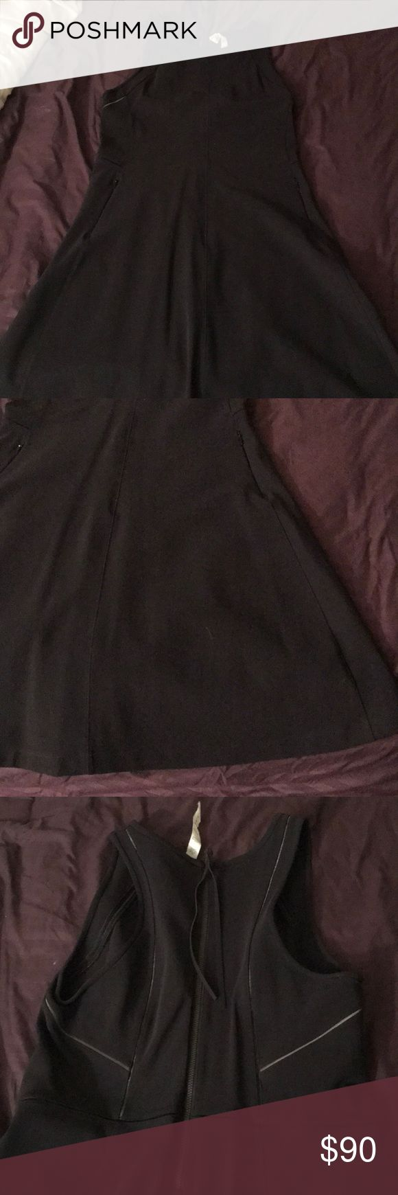 Lululemon dress Pretty black dress lululemon athletica Dresses