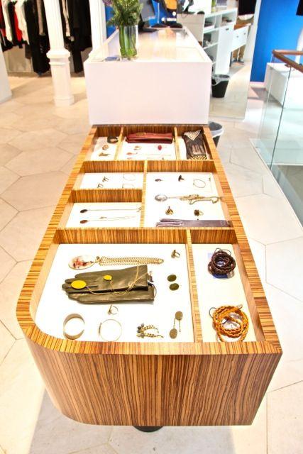 Cash desk design by Nacho Olive