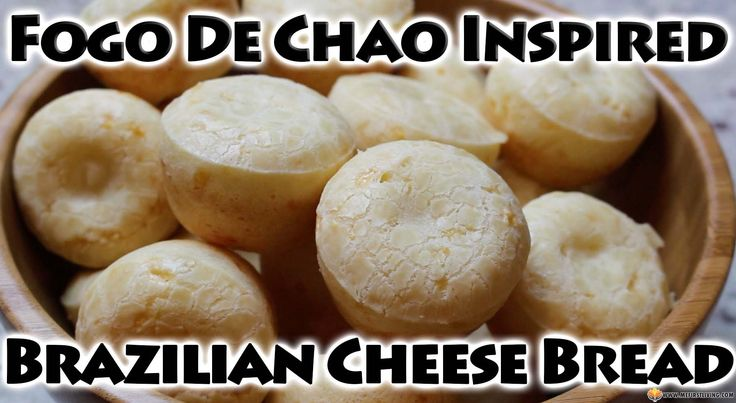 These Fogo De Chao inspired Pao De Queijo are cheesy, savory, and deliciously chewy 2-bite traditional Brazilian bread that are unlike any bread out there! They're made with Tapioca Flour (starch) instead of traditional wheat flour so they are a great Gluten-Free option for those with Celiac's Disease! ‪#‎paodequeijo‬ ‪#‎brazilianbread‬