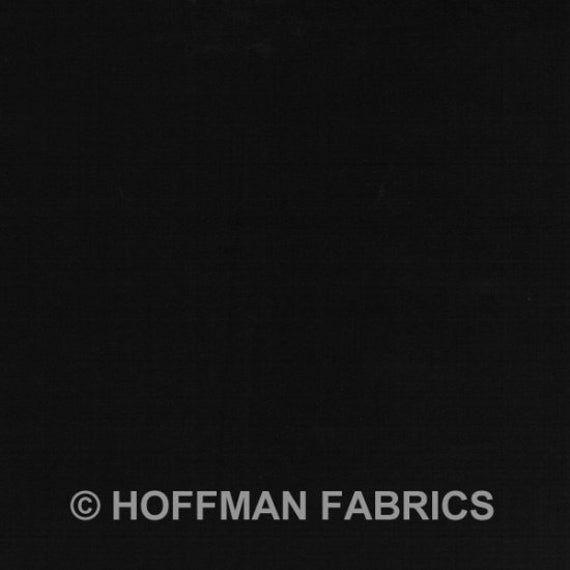 Hoffman Fabrics Bali Batik Watercolors Black Yard