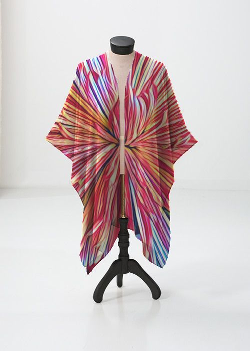 Recommend Online Cheap 2018 New Printed Racerback Top - Abstract Color Splash 53 by VIDA VIDA Clearance Online Amazon Outlet Pictures Buy Cheap Buy rvjig3OVpe