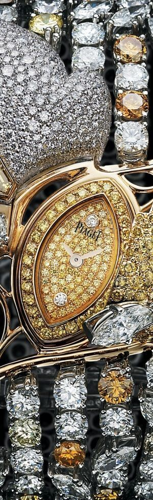 Piaget Rose Gold Diamond Secret watch