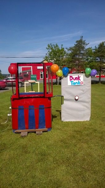 How to build a DIY Homemade Dunk Tank