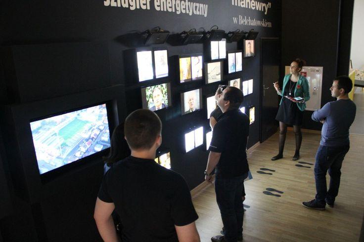 PGE Giganty Mocy znajduje się na trzech kondygnacjach nowo wybudowanego Miejskiego Centrum Kultury w Bełchatowie gdzie obok sal edukacyjnych znajduje się również sala teatralno - widowiskowa i pracownie artystyczne. Więcej o projekcie: http://zmieniamy.lodzkie.pl/projekty/budowa-miejskiego-centrum-kultury-wraz-z-ekspozycja-giganty-mocy,9953,3444.php