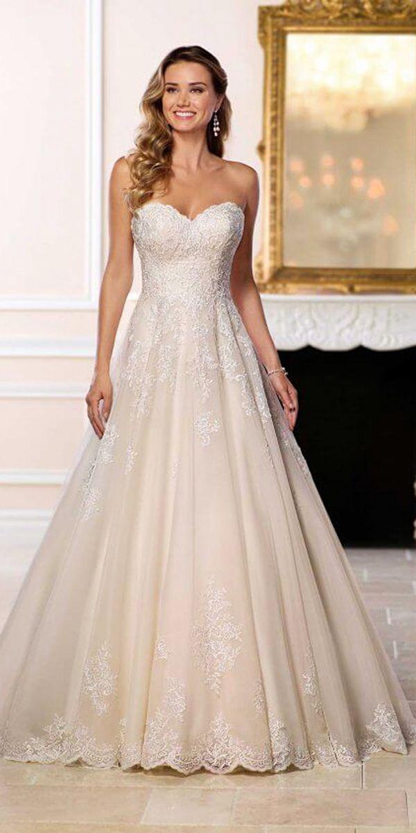 Wonderful Stella York Wedding Dresses For 2018 ★ See more: https://weddingdressesguide.com/stella-york-wedding-dresses/ #bridalgown #weddingdress