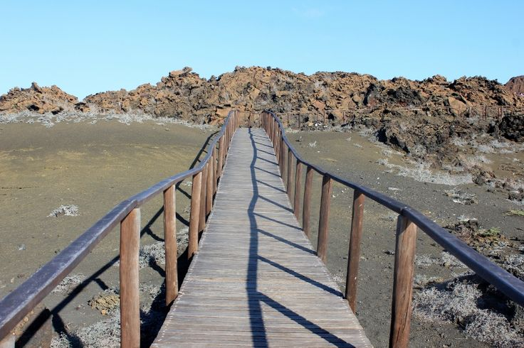 Bucket List Examples: Hike to the top of Bartolome Island in the galapagos