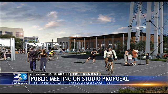 Meeting set for Eastland Mall movie studio proposal