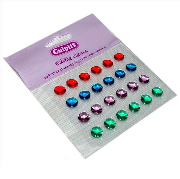 Bellissimi i diamanti di zucchero, sono perfetti per donare un tocco prezioso a tutte le vostre dolci creazioni. www.dolcefardolci.com