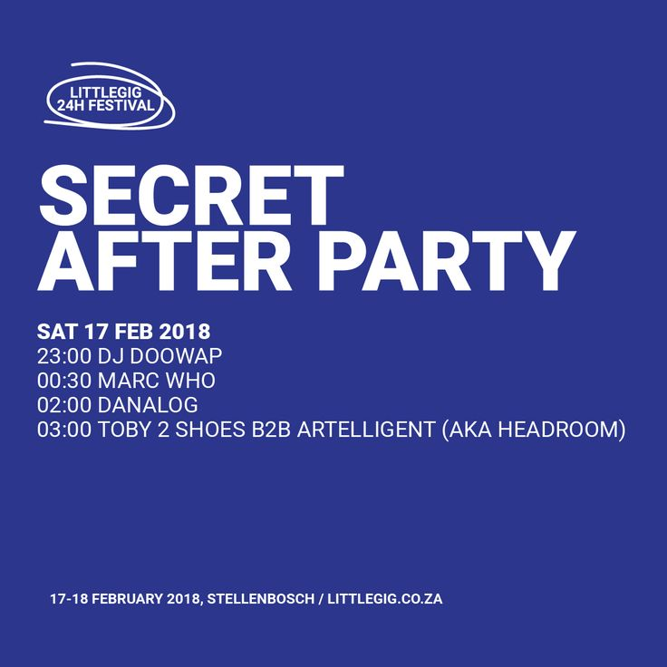 Secret After Party is a mobile music chariot with DJs who can read your mind.    DJ Doowap /  Marc Whoe / Danalog / Toby2Shoes B2B Artelligent