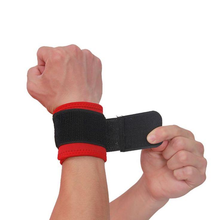 Adjustable Wrist Support Brace Brand Wristband  Men and Women 1 Piece Gym Wrestle Professional Sports Protection Wrist
