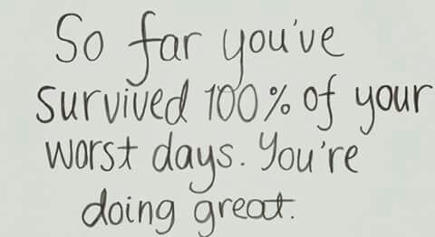 You're doing great.