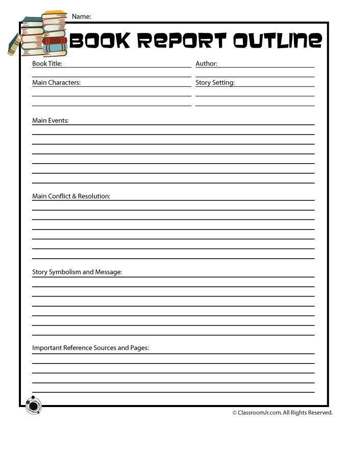 11 best Book Report Templates images on Pinterest Book report - printable book report forms