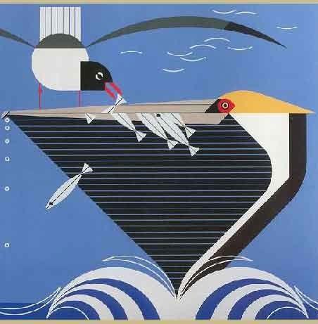 Charley Harper - Pelican Pantry
