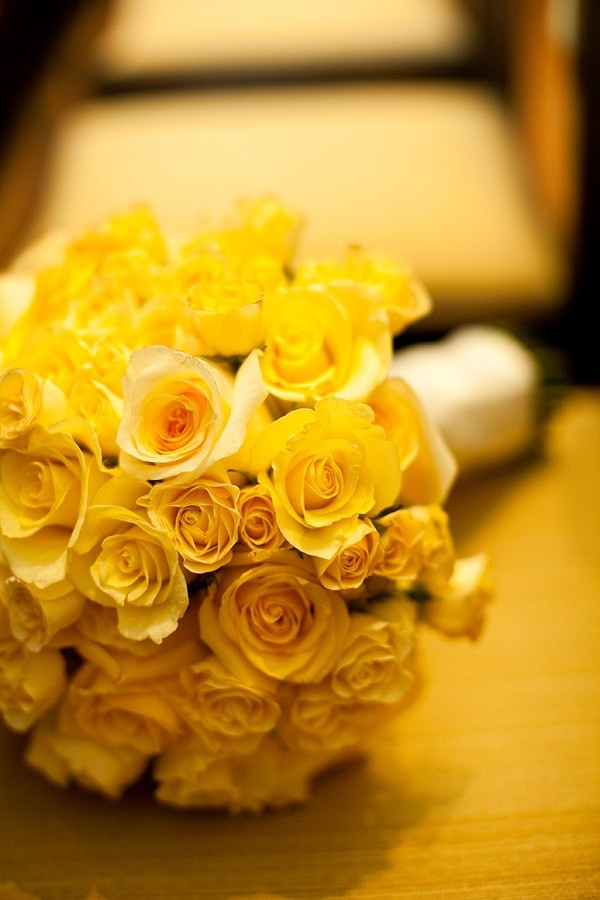 Vibrant - exciting color - yellow.