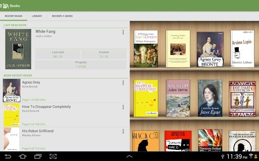 Aldiko Book Reader - Android app from Aldiko Limited   Appolicious ™ Android App Directory