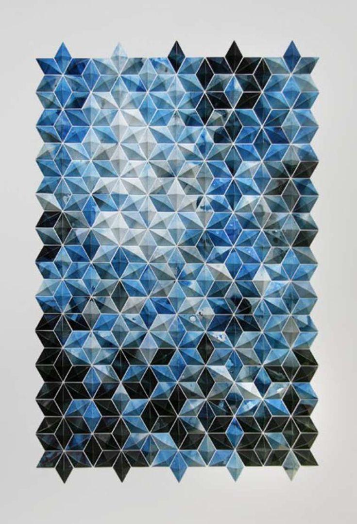 Une sélection des dernières créations depaper art de l'artiste Matt Shlian, qui transformede simples feuilles depapier en impressionnantessculpture