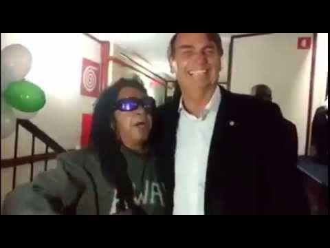 ENCONTRO ÉPICO Jair Bolsonaro e Away de Petrópolis (Gil Brother) PARTE 1