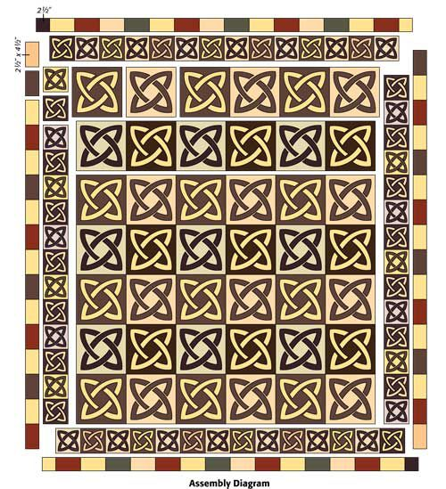 213 best images about An Irish Quilt on Pinterest Knots, Block of the month and Quilting