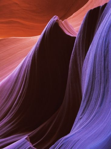 Antelope Canyon Photographic Print by William Manning at Art.com