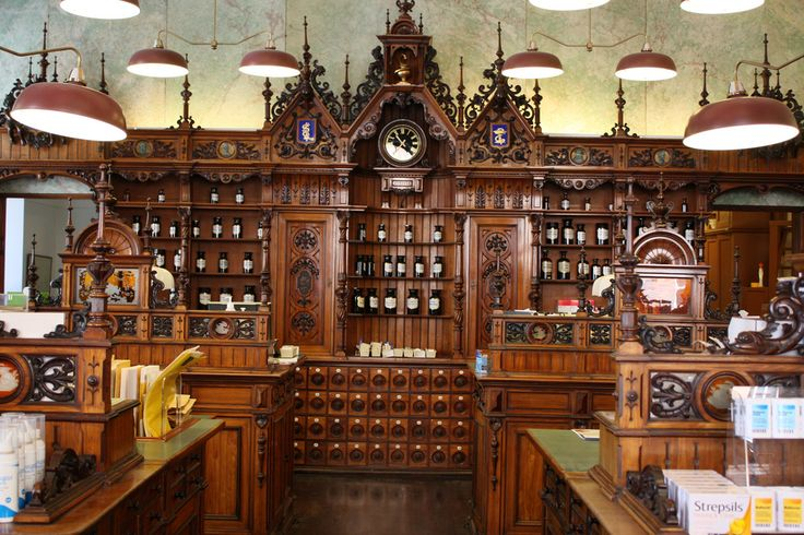 Awesome old apothecary shop!