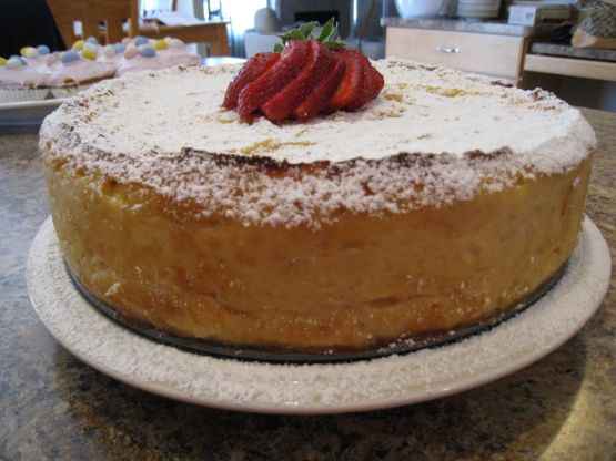 Pastiera With Strawberry Sauce - Easter Ricotta Cake ...