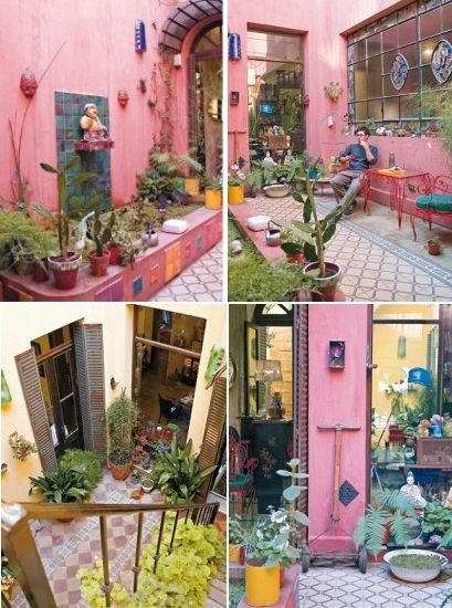Mexican style patio little bit o mexico pinterest for Ideas de decoracion de patios