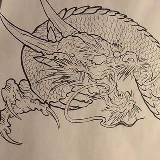 how to draw a japanese dragon - Поиск в Google