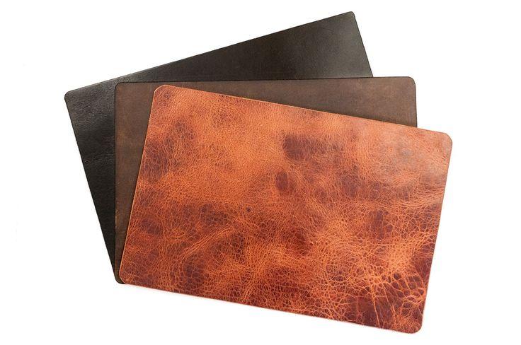 Buffalo Hide Leather Desk Pad