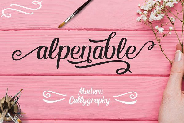 Alpenable + Swash 25% OFF by putra_khan on @creativemarket