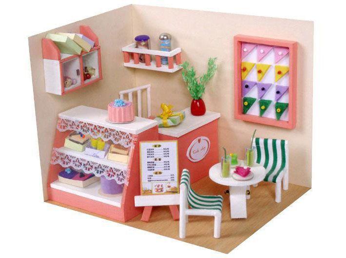 每個女孩都該有間夢想中的娃娃屋~自己動手DIY,製作完成更有FU!   Diy kitchen furniture, Wooden dollhouse, Wooden diy