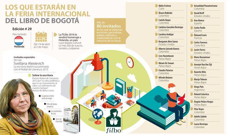 Premios Nobel y la paz llenarán la agenda de la Feria Internacional del Libro de Bogotá