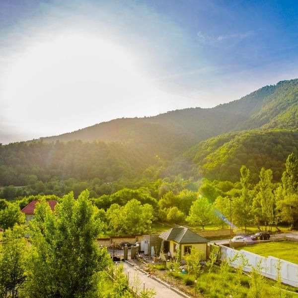 White Boutique Hotel Situated In Gabala 22 Km From L6 Qafqaz Gondola Lift White Boutique Hotel Has A Garden A Bar And A Shared Boutique Hotel Hotel Garden View