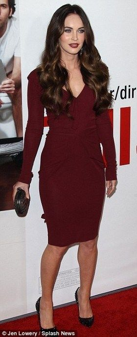 Megan Fox Long Curly Hairstyles //  #Curly #Hairstyles #Long #Megan