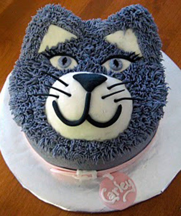 cat  : 50 Amazing and Easy Kids' Cakes - mom.me