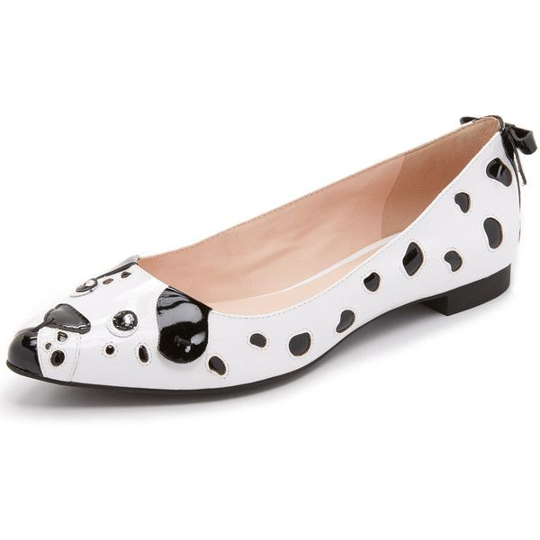 Kate Spade New York Elena Flats (930 BRL) ❤ liked on Polyvore featuring  shoes