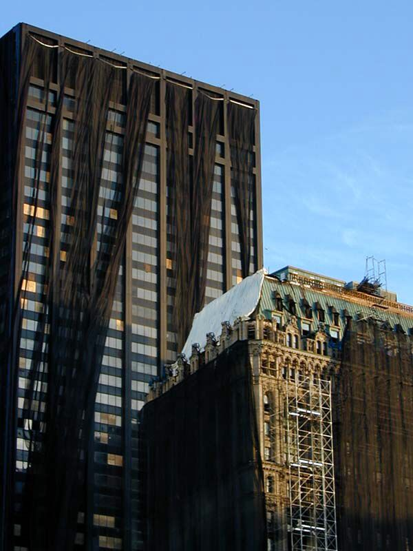 Image issue du site Web http://wirednewyork.com/images/skyscrapers/130liberty/90west_130liberty_26jan02.jpg
