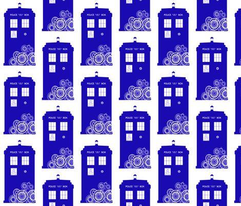 Gallifreyan TARDIS fabric by veetvoojagig on Spoonflower - custom fabric: Styliz Tardis, The Doctors, Custom Fabrics, Names, Gallifreyan Tardis, Tardis Fabrics, Ideas Doctors, Awesome Fabrics