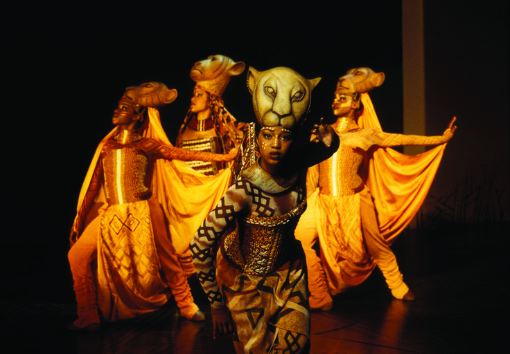 Nala in the Lion King at the Lyceum Theatre. http://www.theatrepeople.com/shows/the-lion-king